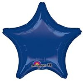 "19""A Star Navy Blue (10 count)"