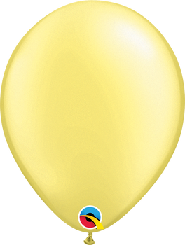 "11""Q Pearl Lemon Chiffon (100 count)"