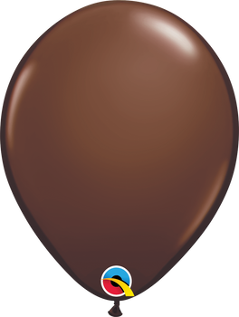 """11""""Q Chocolate Brown (100 count)"""