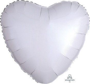 "18""A Heart White (10 count)"