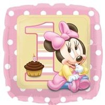"""18""""A Minnie Mouse 1st(10 count)"""