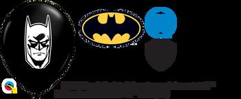 """5""""Q Batman, Black Print (100 count)"""