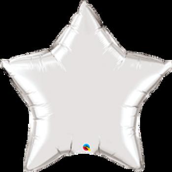 "36""Q Star Mylar Silver (5 count)"