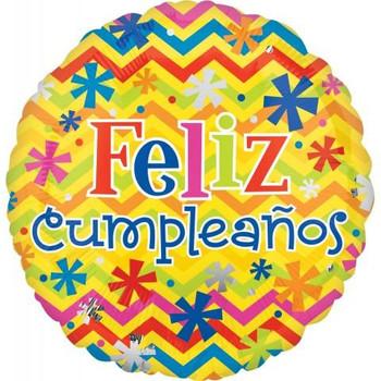 "18""A Feliz Cumpleanos, Bright"