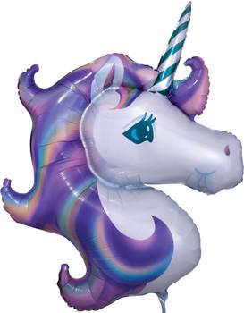 """33""""A Unicorn Pastel Head Pkg (5 count)"""