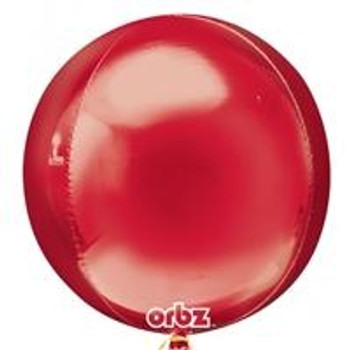 """16""""A Orbz Red (3 count)"""