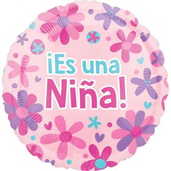 """18""""A Es Una Nina, Flowers"""