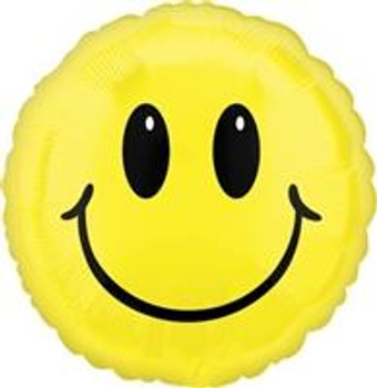 "18""A Smiley Face, Yellow (10 count)"