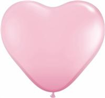 """11""""Q Heart Pink (100 count)"""