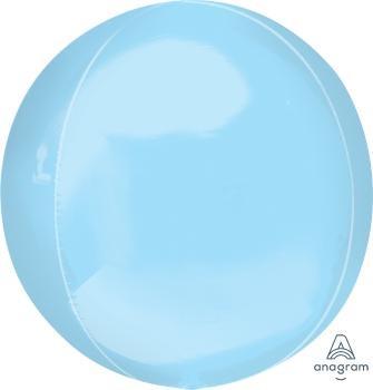 """16""""A Orbz, Pastel Blue (3 count)"""