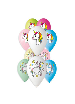 "13""G Sweet Unicorn Assorted Print(50 count)"