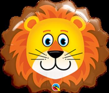 "14""Q Animal Lion, Lovable Head(10 count)"