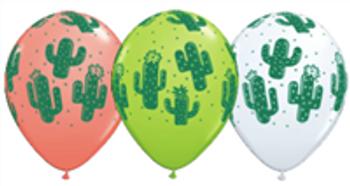 """11""""Q Cactus Print (50 count)"""