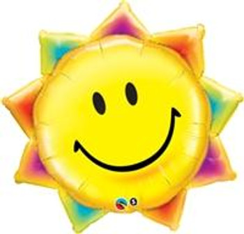 "35""Q Sun, Smile Face (5 count)"
