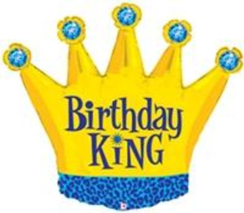 "36""B Crown, Birthday King (1 count)"