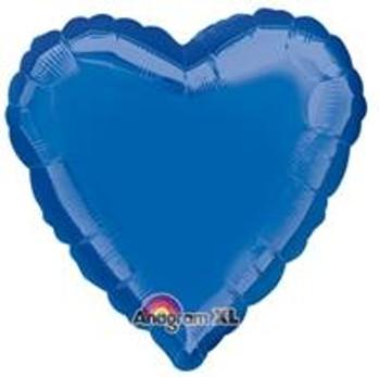 "18""A Heart, Blue Dark"