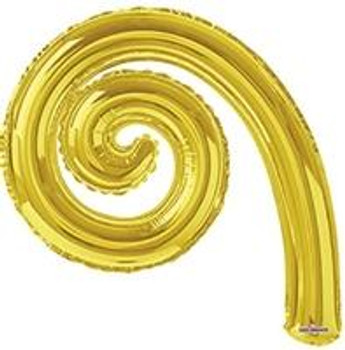 "14""K Kurly, Spiral Gold(10 count)"