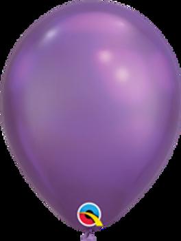 "11""Q Chrome, Purple (100 count)"
