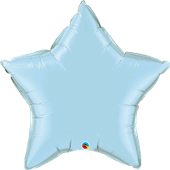 """36""""Q Star Pearl Light Blue (5 count)"""