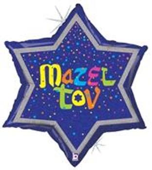 "24""B Mazel Tov, Glittering (5 count)"