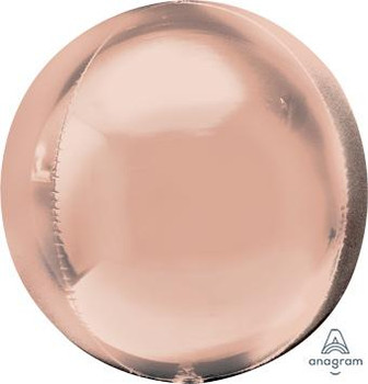 "21""A Orbz Rose Gold Jumbo (3 count)"