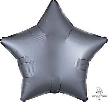 "19""A Star, Satin Luxe Graphite(10 count)"