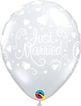 "11""Q Just Married, Clear Print (50 count)"