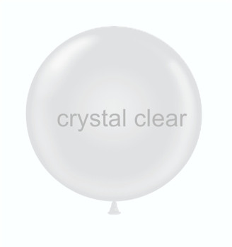 """24""""T Crystal Clear (5 count)"""