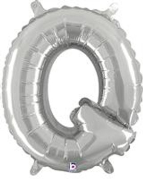 """14""""B Silver Q (1 count)"""