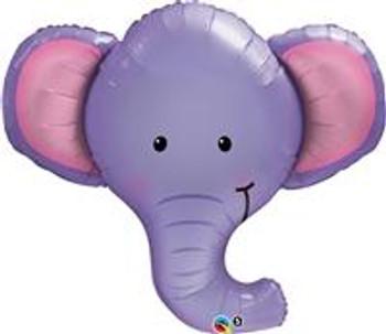 39Q Animal Elephant, Ellie Head (5 count)
