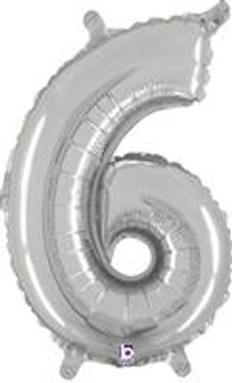 """14""""B Silver 6 (1 count)"""