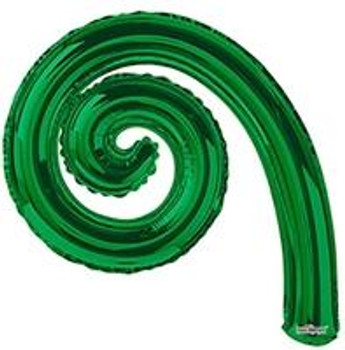 "14""K Kurly Spiral Green (10 count)"