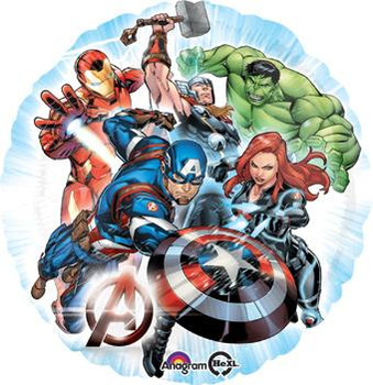 """18""""A Avengers Animated Pkg (5 count)"""