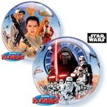 "22""Q Bubble, Star Wars-Force Awakens (1 count)"