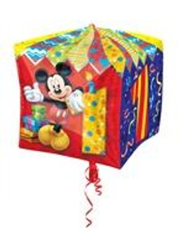 "15""A Cubez, Mickey Mouse 1st Birthday (1 count)"