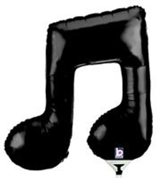 """14""""B Music Note Double (10 count)"""