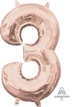 """34""""A Rose Gold #3(1 count)"""