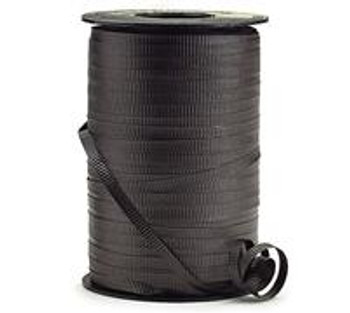 "3/16"" Curling Ribbon Black( 500 yards)"
