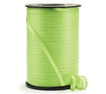 """3/16"""" Curling Ribbon Lime Green(1 count)"""