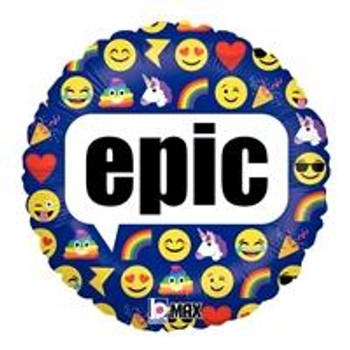 "18""B Emoji Epic(10 count)"