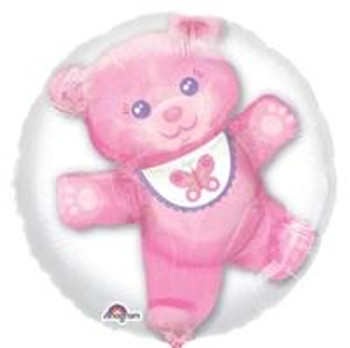 "24""A Insider, Baby Girl Bear Pink (1 count)"