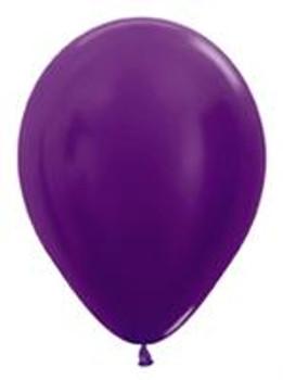 """11""""B Violet Metallic (100 count)"""