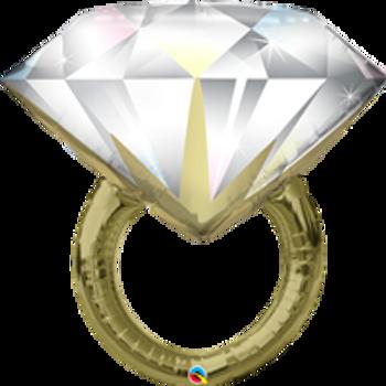 "37""Q Diamond Wedding Ring(1 count)"