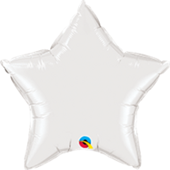 "36""Q Star Mylar White (5 count)"