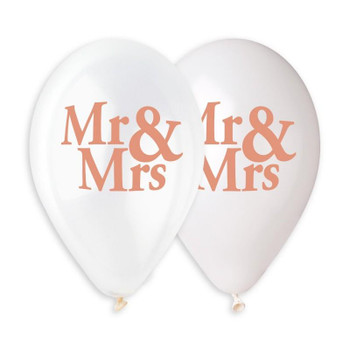 "13""G Mr and Mrs Assorted Print(50 count)"