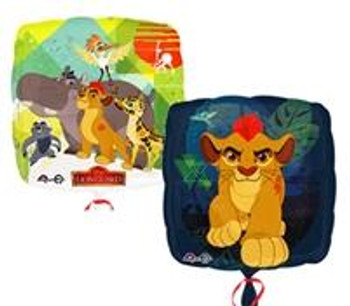 "18""A Lion Guard, Square (5 count)"