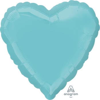 "18""A Heart, Robin's Egg Blue(10 count)"
