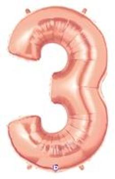 """40""""B Mega, Rose Gold #3(1 count)"""