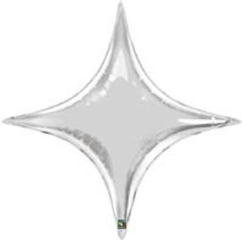 """40""""Q Starpoint, Silver (5 count)"""