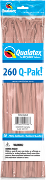 260Q Q-PAK Rose Gold Metallic (50 count)